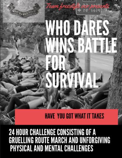 24 Hour Survival challenge